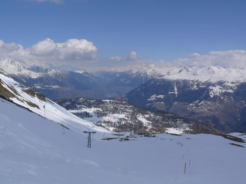 Törbeltälli im Skigebiet Bürchen
