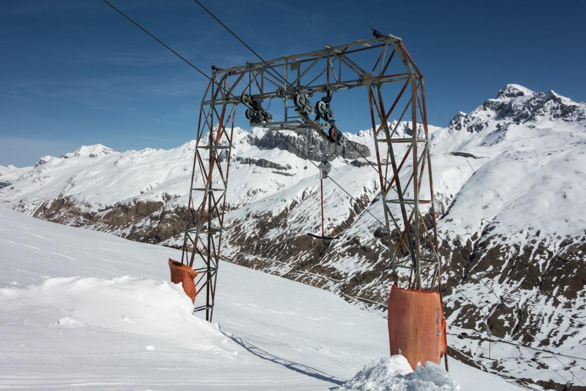 Skilift Juppa-Tscheischhorn im Skigebiet Avers