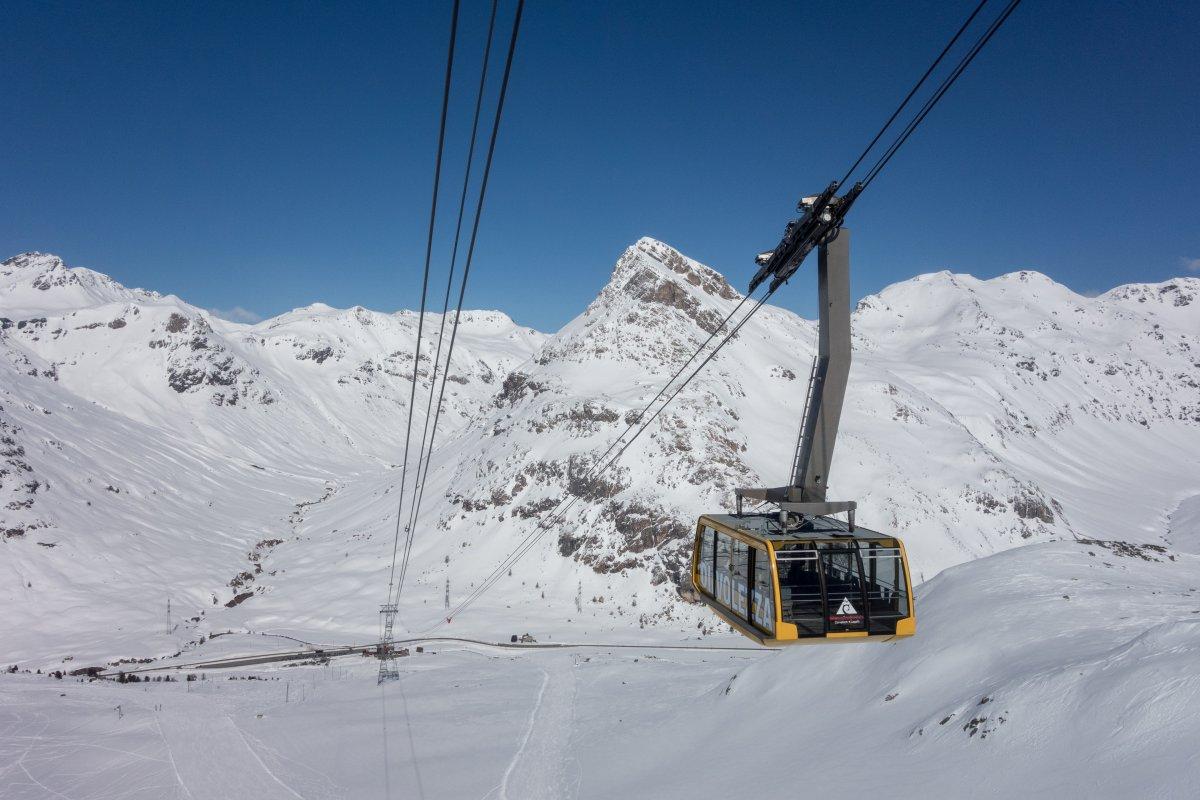 Luftseilbahn Bernina-Diavolezza