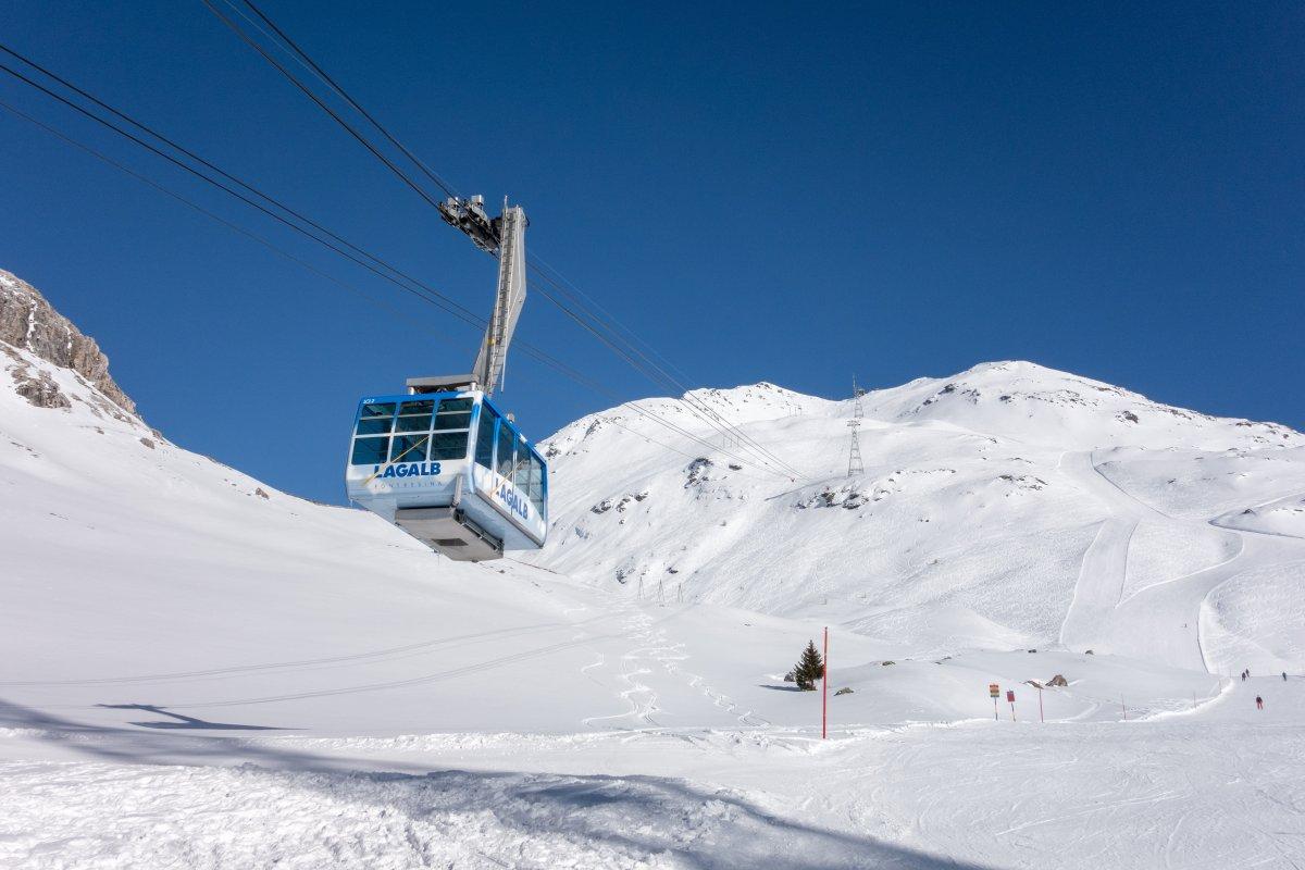 Luftseilbahn Bernina-Piz Lagalb