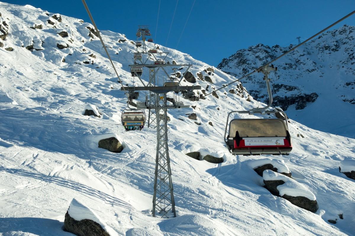 Sesselbahn Alp Surlej - Murtèl
