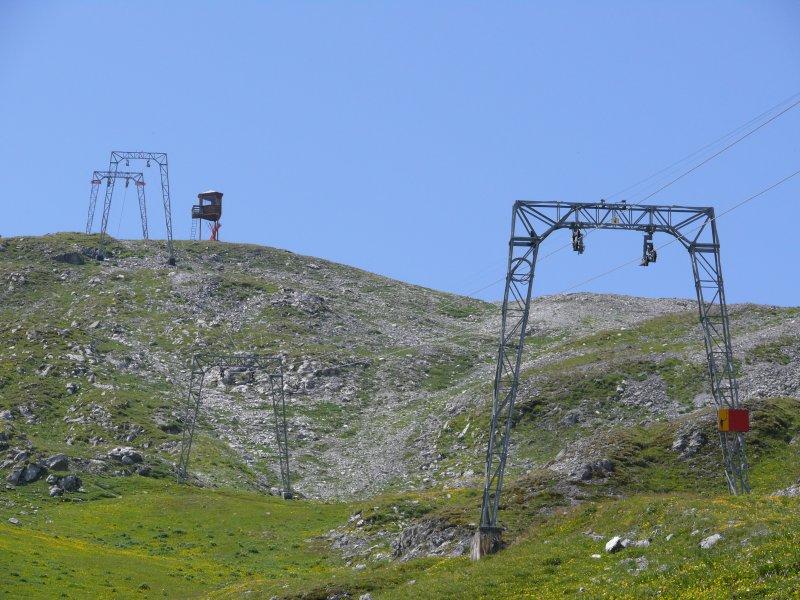 Skigebiet Schatzalp im Sommer