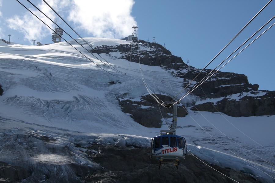 Titlis Rotair zum Gletscher