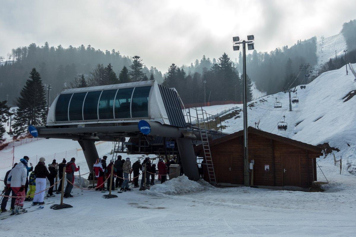 Talstation der Sesselbahn Grand Artimont