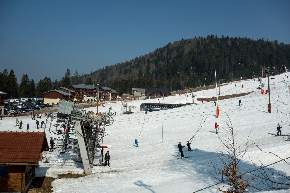 Übungsgelände Le Slalom