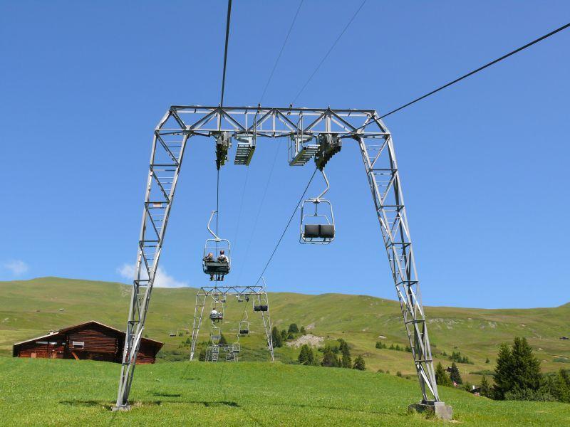 Skigebiet Hochwang im Sommer