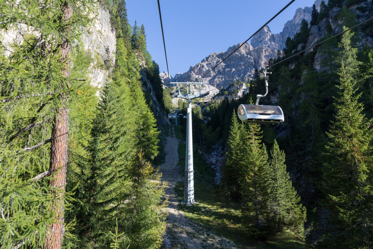 Sesselbahn Rio Gere - Val Grande