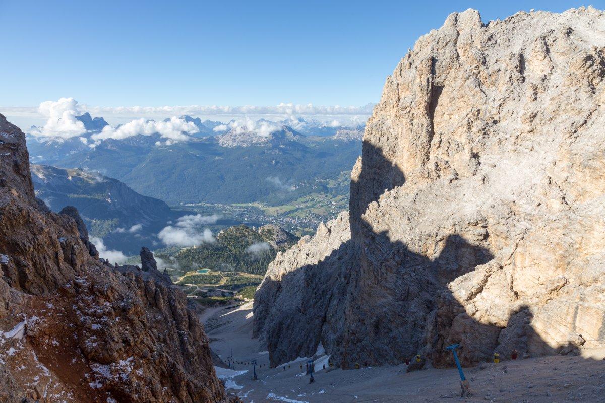 Panorama von der Forcella Staunies