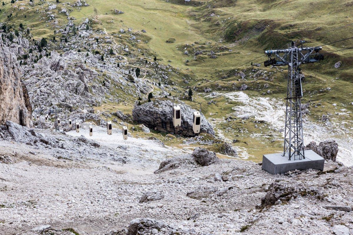 Kabinenbahn Sellajoch - Langkofelscharte