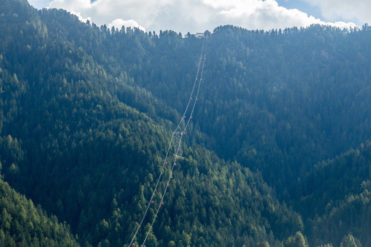 Kabinenbahn St. Ulrich - Seiseralm