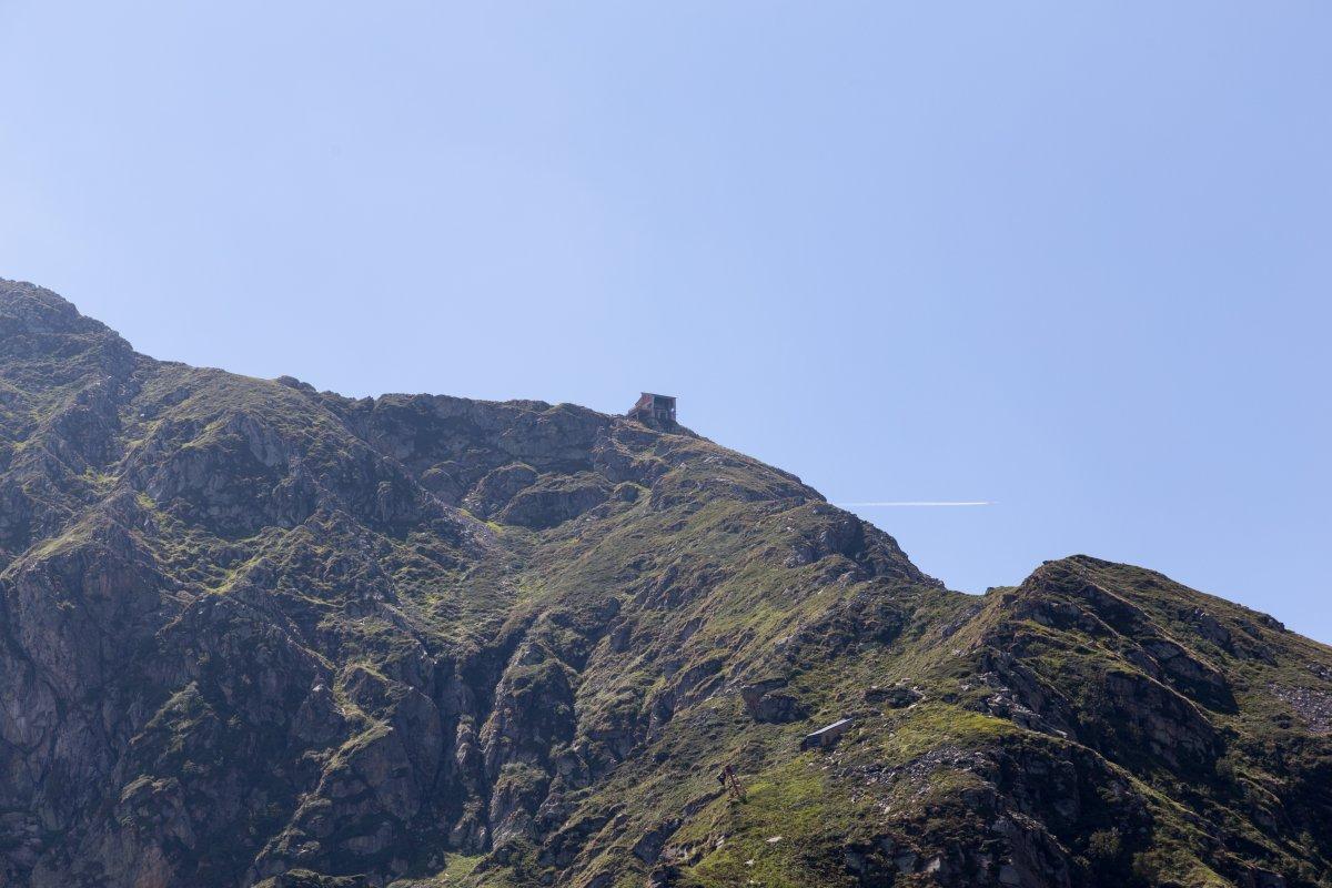 Ehemalige Bergstation auf dem Monte Mucrone