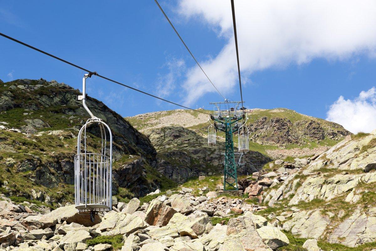 Korblift Lago di Mucrone - Monte di Camino