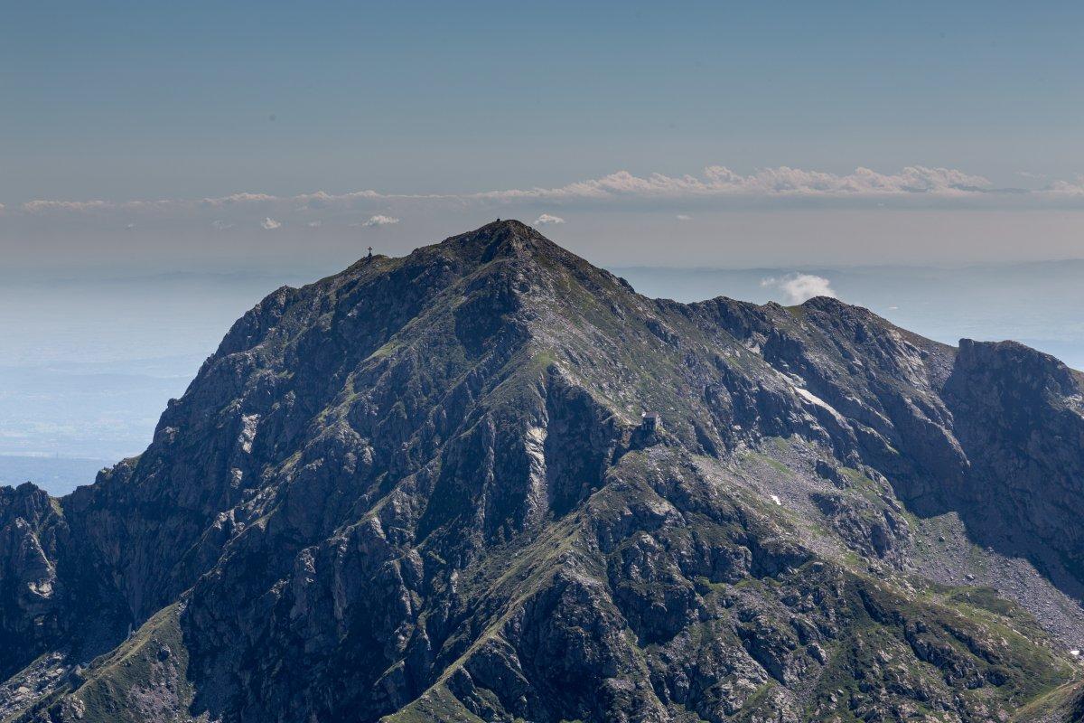 Monte Mucrone mit Poebene