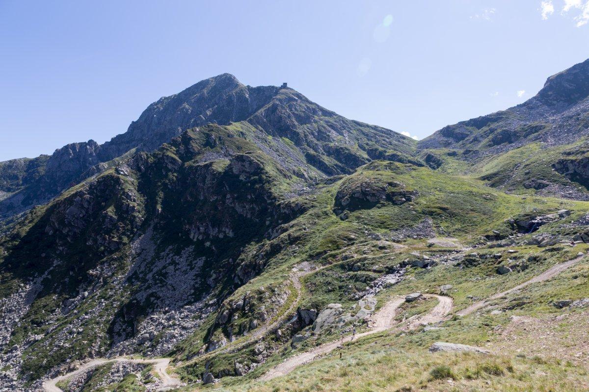 Ehemalige Luftseilbahn zum Monte Mucrone