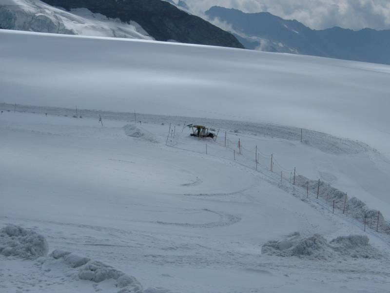 Seillift auf den Jungfraujoch