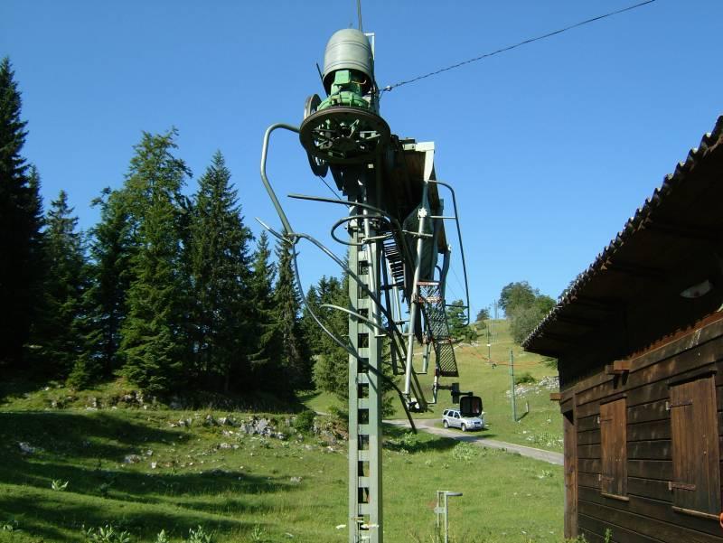 Skigebiet L'Abbaye am Lac de Joux im Sommer