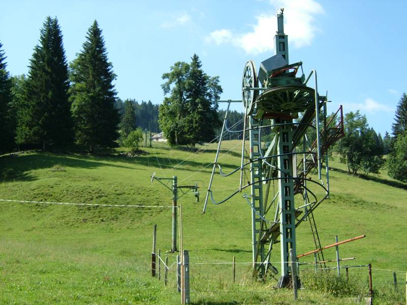 Skigebiet Le Brassus am Lac de Joux