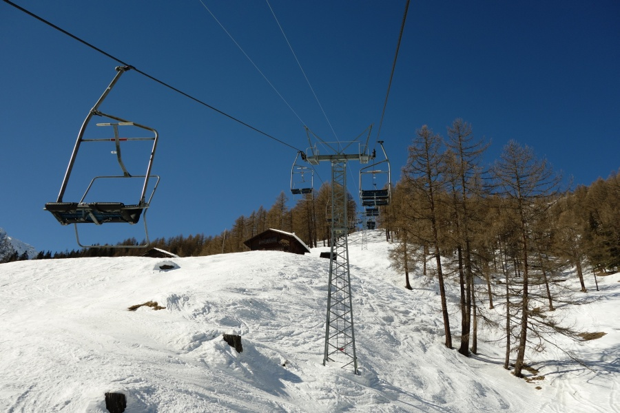 Skigebiet Liddes-Vichères-Chaux de Bavon