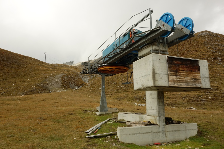Skigebiet Minschuns-Alp da Munt im Sommer