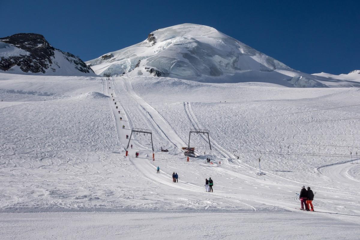 Sommerskigebiet Saas Fee
