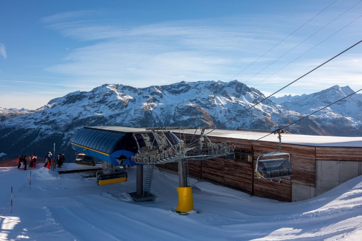 Sesselbahn FIS-Hang Corviglia
