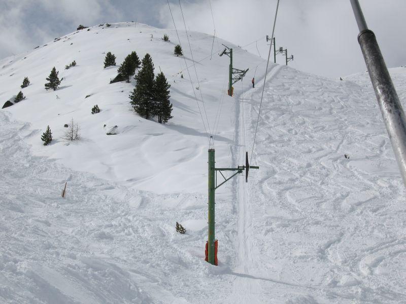 Skilift im Skigebiet Arolla