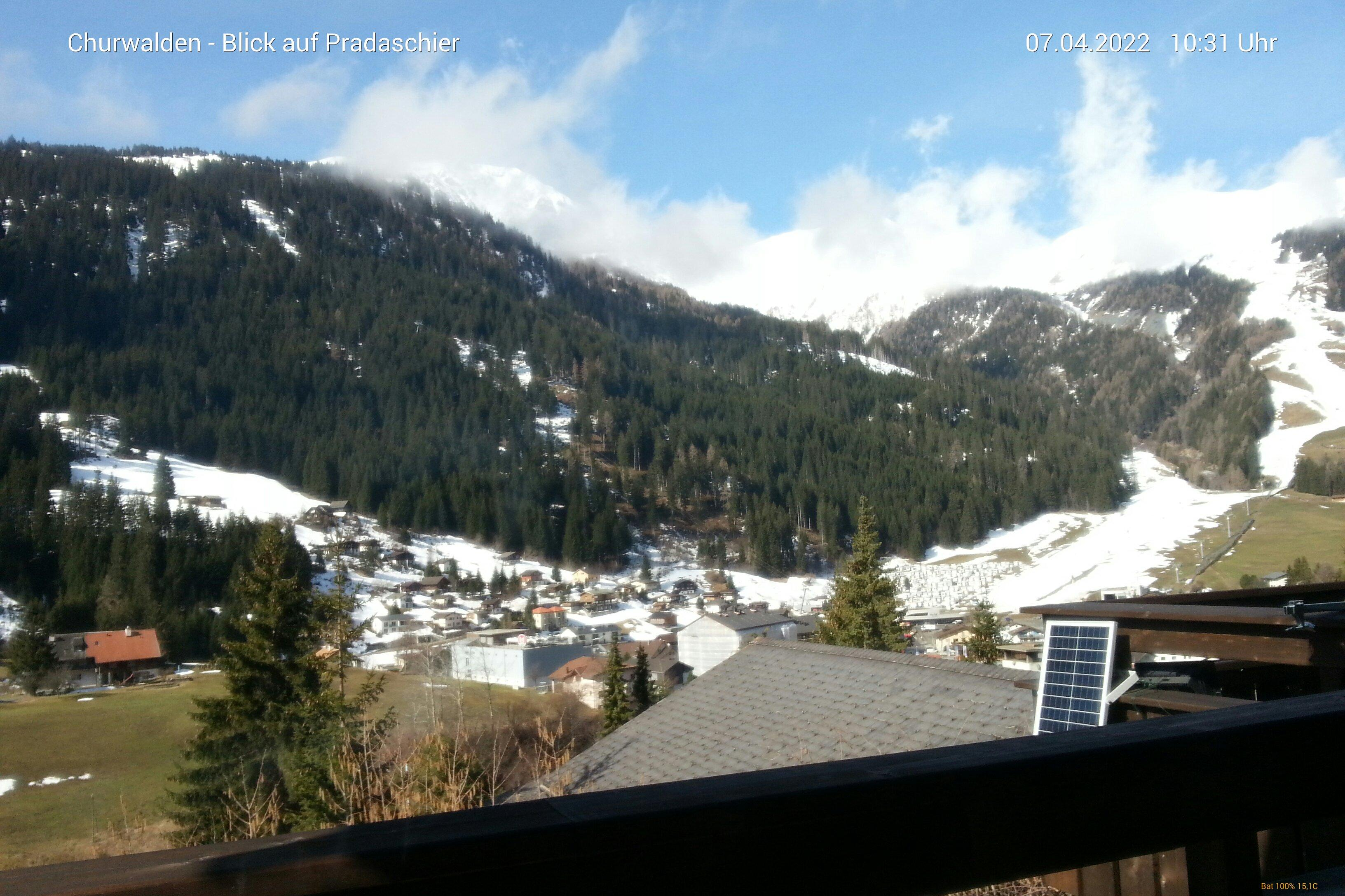 Webcam Churwalden (Graubünden)